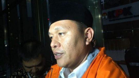 Usai Diperiksa, Bupati Lampung Tengah Ditahan KPK