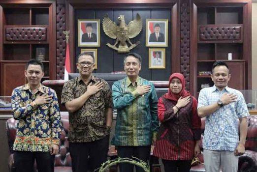 Bertemu KPU dan Bawaslu, Pjs Gubernur Lampung: ASN Harus Netral