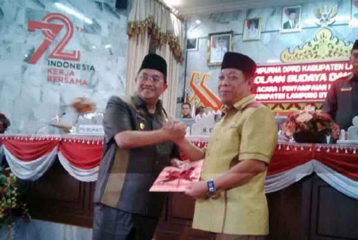 DPRD Lampura Mulai Bahas Raperda Pengelolaan Budaya dan Raperda Pemberdayaan Koperasi