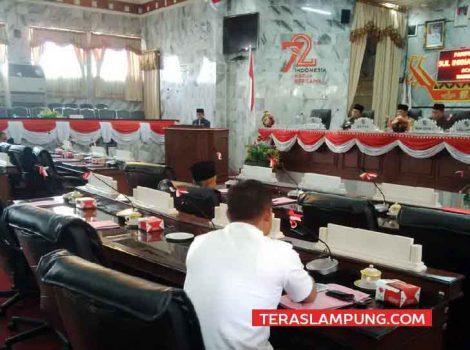 Pansus DPRD Lampura Yakin Rampungkan Sejumlah Raperda