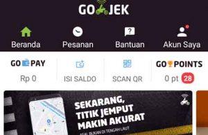 Aplikasi Go Jek