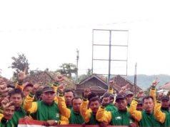 Dekkarasi Logistab mendukung Samsul Hadi - Nuzul Irsan pada Pibgub Tanggamus 2018.