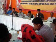 Suasana rapat pleno penetapan Daftar Pemilih Sementara yang dilakukan oleh KPU Lampung Utara