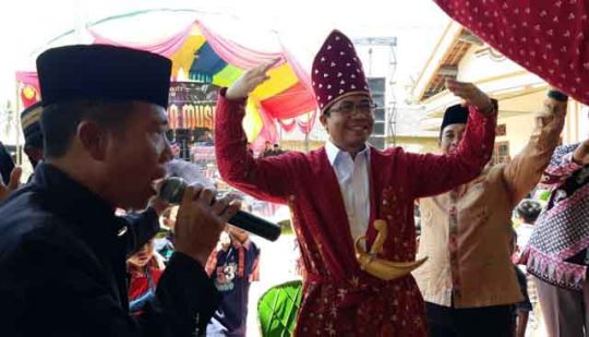 Ahmad Jajuli di Mataram Ilir, Lampung Tengah.