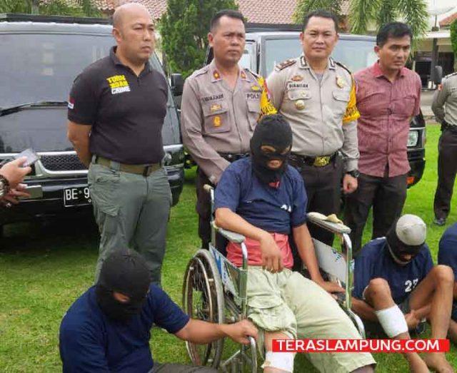 Komplotan pencuri mobil pikap dibekuk Polres Lampung Utara