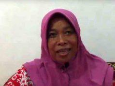 Dahlia (45), warga Gedongtataan,Kabupaten Pesawaran