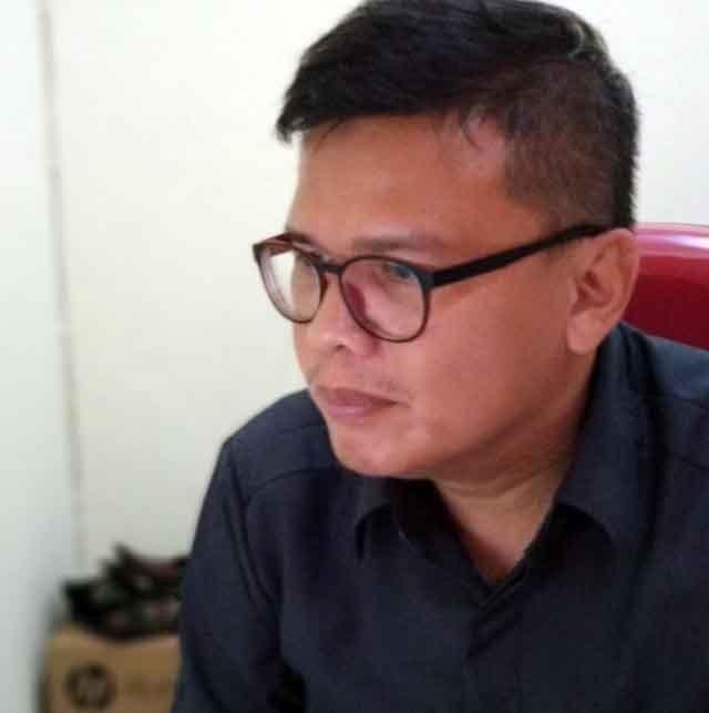 Ketua KPU Kota Bandarlampung,Fauzi Heri