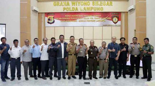 Forkopimda Provinsi Lampung Siap Perlancar Program Strategis Nasional JTTS