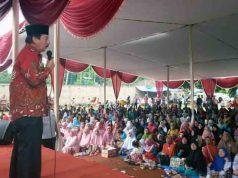 Herman HN kampanye di Lampung Utara, Selasa (24/4/2018).