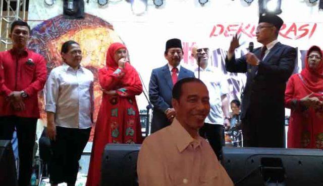 Herman HN - Sutono mendukung Jokowi pada Pilpres 2018