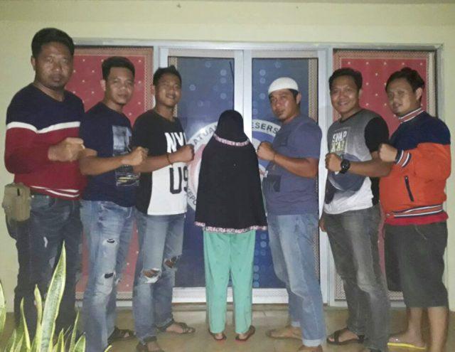 SS (39), terduga pengedar narkotika jenis sabu-sabu yang diamankan petugas Satuan Reserse Narkoba Polres Way Kanan. (Foto Humas Polres Waykanan)