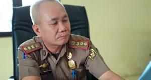 Kasat Pol PP Kota Bandarlampung Mansi. SH