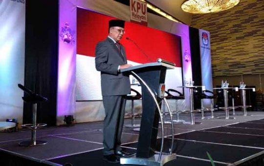Ketua KPU Lampung: Debat untuk Mengeksplorasi Kemampuan Pasangan Cagub-Cawagub