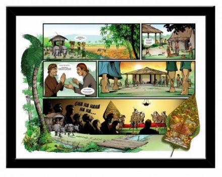 Panen Raya, komik karya Ketut Oktabayuna