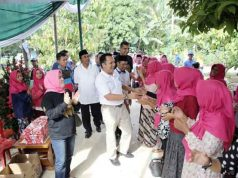Ridho Ficardo di Desa Pujo Asri, Lampung Tengah