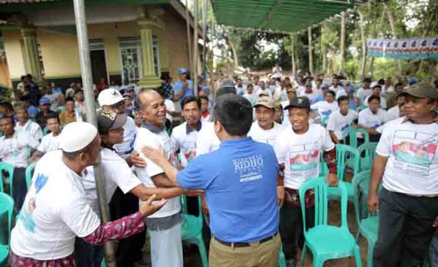 Ridho Ficardo di Raman Aji,Lampung Timur