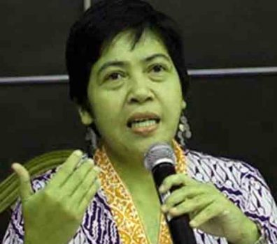 Ketua Dewan Pimpinan Wilayah Seknas Jokowi Lampung, Siti Noor Laila