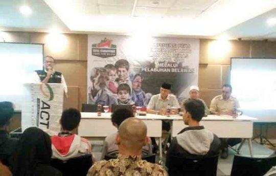 ACT Lampung Kirim 1.000 Ton Beras untuk Warga Suriah