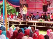 Herman HN kampanye di Way Nipah, Senin (23/4/2018).
