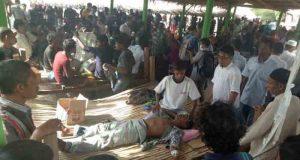 Seabgian pengungsi Rohingya tiba di Bireuen,Aceh, dalam kondisi sakit (Foto: acehkita.com)