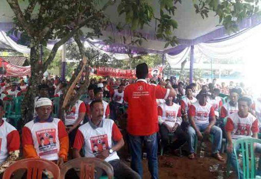 Sahabat Herman HN Konsolidasi di Bumi Ratu Nuban Lampung Tengah
