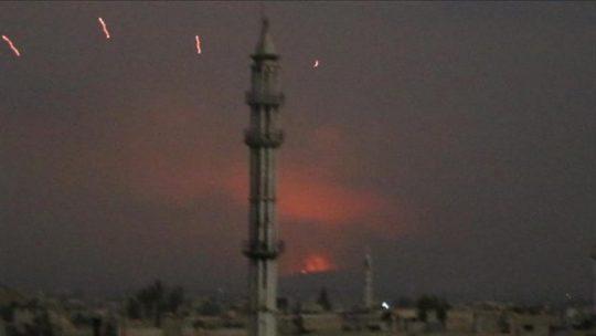 Serangan Roket Hantam Pos Militer di Suriah, 18 Tentara Tewas