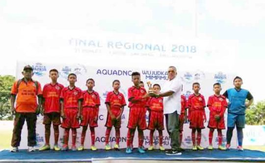 Juara 4 Sepak Bola Danone Cup U-12, SSB INJ Buat Kapolres Tuba Bangga