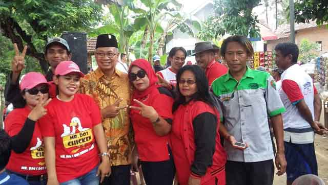 Sutono Hadiri Lomba Mancing di Lampung Tengah