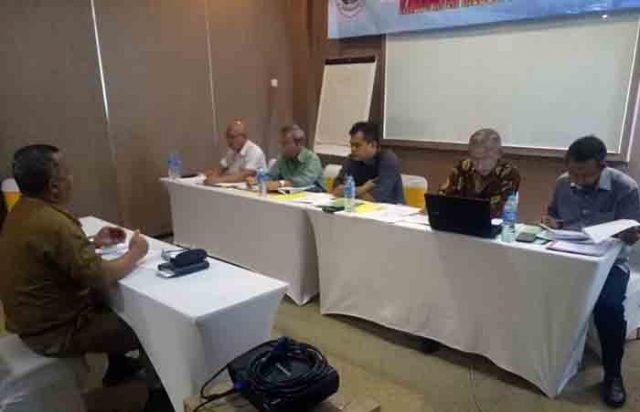 Uji kompetemsi pejabat tinggi pratama Pemkab Mesuji, Selasa (17/4/2018).