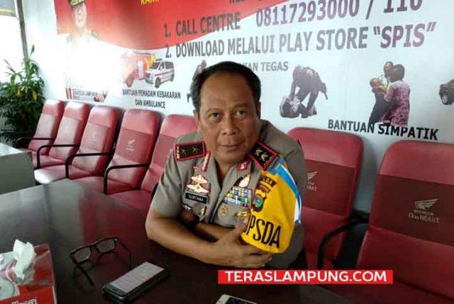 Kapolda Lampung, Irjen Suntana