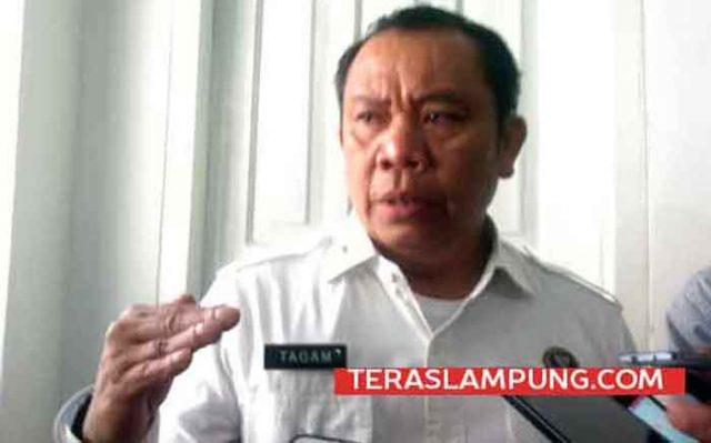 Kepala Badan Narkotika Nasional Provinsi (BNNP) Lampung, Brigjen Pol Tagam Sinaga