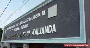 Lapas Kalianda,Lampung Selatan