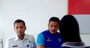Muchklis Adji, Kepala Lapas Kalianda, dalam ekspos kasus di Kantor BNN Lampung, di Bandarlampung, Kamis (24/5/2018).