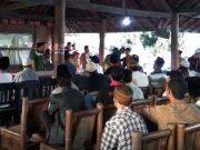 Sutono berbuka puasa bersama para relawan pendukung Herman HN-Sutono di Lampung Selatan.