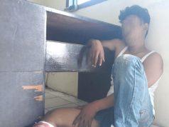 Tersangka perampokan, FR (28), warga Desa Gunung Sugih, Jabung Lampung Timur yang dihadiahi timah panas Tim Tekab 308 Polres Lampung Timur. (foto Ist)