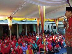 Herman HN kampanye di Ketapang, Lampung Selatan, Selasa (19/6/2018).