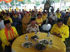 Herman HN bersama pengurus Partai Berkarya Lampung