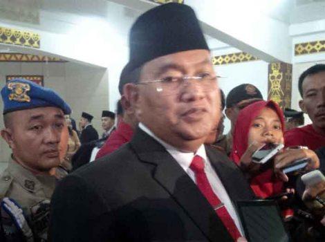 Pelaksana Tugas Bupati Lampung Utara, Sri Widodo (Teraslampung.com/Feaby Handana)
