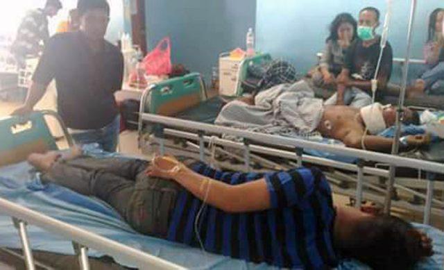 Korban pembegalan di Jalinsum wilayah Lamsel dirawat di rumah sakit.