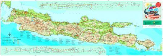 Inilah Peta Jalur Mudik Idul Fitri 2018 Pulau Jawa Bali