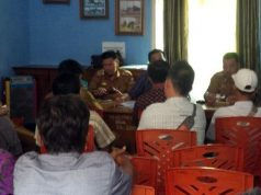 Persiapan penandatanganan MoU Program Pansimas di Lampung Utara, Senin (23/7/2018).
