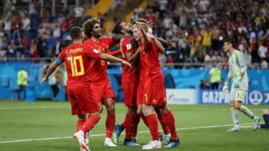 Lolos ke Perempat Final, Belgia Nyaris Dipermalukan Jepang