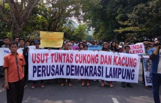 Pilgub Lampung, Ini Surat Terbuka KMLUPB untuk Pansus Politik Uang