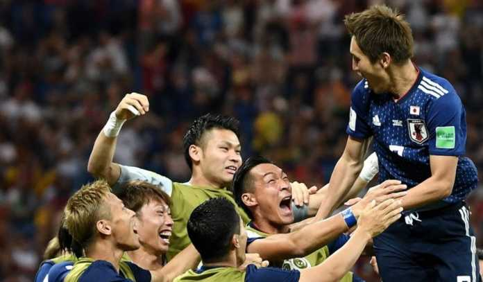 Sempat unggul 2-0, Jepang akhirnya dikalahkan Belgia 2-3