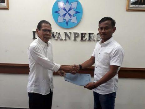 Terkait Pilgub, Ketua PWI Lampung Dilaporkan ke Dewan Pers