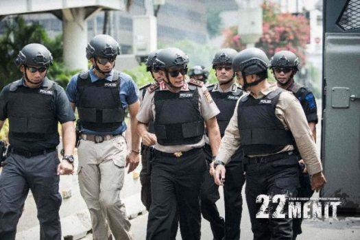 """""""22 Menit"""", Film Heroisme Polisi Atasi Bom Thamrin Diputar di Mal Kartini"""