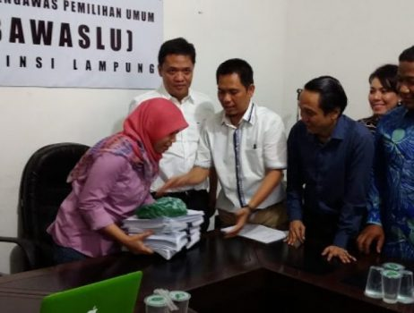 Pilgub Lampung 2018, KRLUPB Laporkan Para Komisioner Bawaslu ke DKPP
