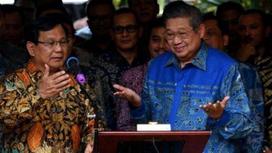 SBY Tarik Kadernya dari BPN Prabowo – Sandiaga