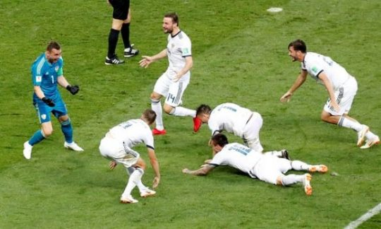 Kalahkan Spanyol, Rusia Lolos ke Perempat Final