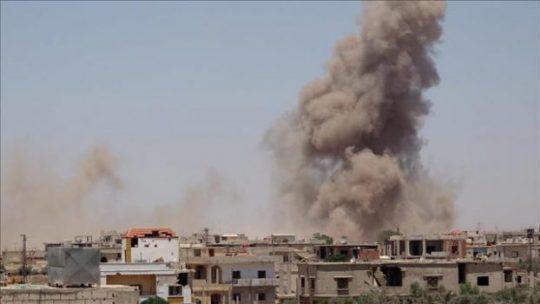 35 Orang Tewas dalam Serangan Udara di Deir ez-Zor Suriah